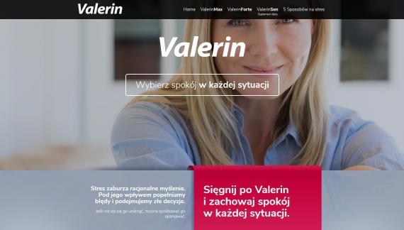 Valerin – wybierz spokój w każdej sytuacji