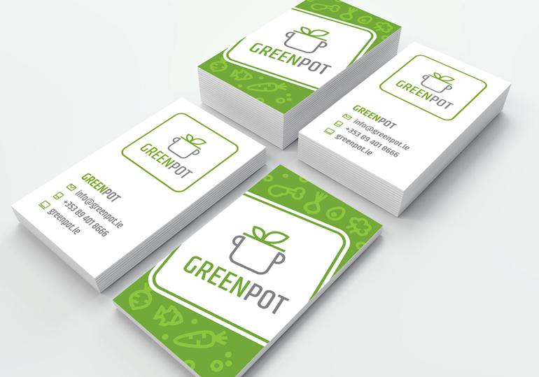 Wizytówki Greenpot