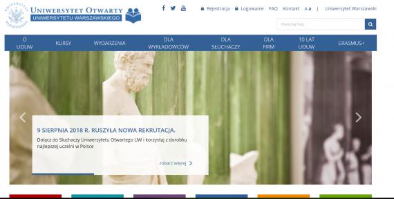 Umowa z Uniwersytetem Otwartym UW