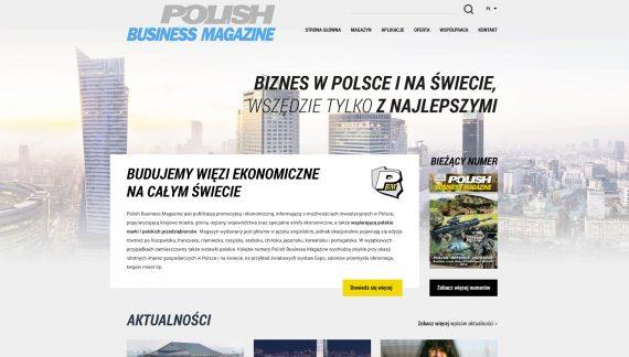 Polish Business Magazine — Wszędzie tylko z najlepszymi!