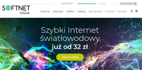Nowoczesne technologie SOFTNET Telekom